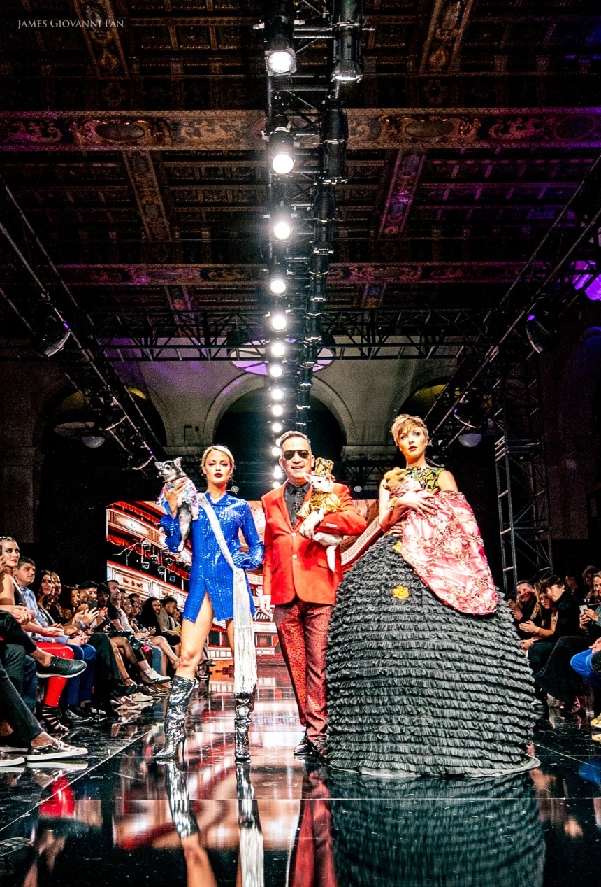 Anthony Rubio Women's Wear and Canine Couture Los Angeles Fashion Week Photo byJames Giovanni Pan