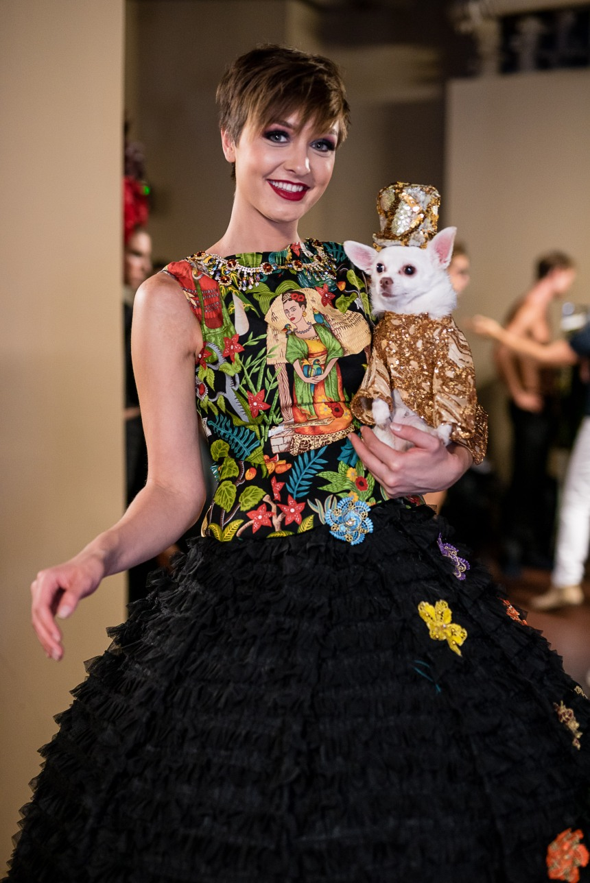 Anthony Rubio Women's Wear and Canine Couture Los Angeles Fashion Week The Majestic Downtown Photo by Thierry Brouard of Prémium Paris